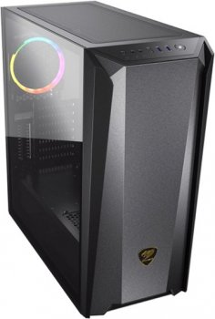Корпус Cougar MX660 Iron RGB Dark Black