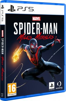 Игра Marvel Spider-Man: Miles Morales для PS5 (Blu-ray диск, Russian version)