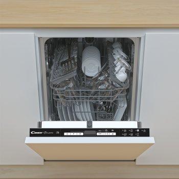 Вбудована посудомийна машина CANDY CDIH 2D1047-08