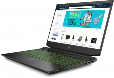 Ноутбук HP Pavilion Gaming Laptop 15-ec1002ua (1U6A4EA) Dark Grey Суперцена!!!
