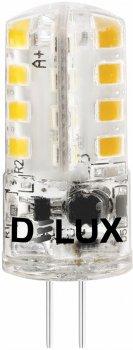 Світлодіодна лампа DELUX G4E 3 Вт 3000 K 12 В G4 (90016871) 4 шт.