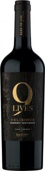 Вино Gato Negro 9 Lives Reserve Cabernet Sauvignon червоне сухе 0.75 л 13.5% (7804300139230)