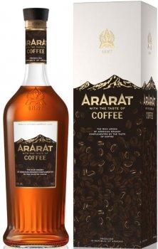 Крепкий алкогольный напиток Ararat Coffee 0.7 л 30% (4850001006725)