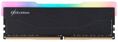 Оперативна пам'ять Exceleram DDR4-3200 16384 MB PC4-25600 RGB X2 Series Black (ERX2B416326C)