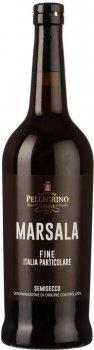 Вино Cantine Pellegrino Marsala Fine IP DOC 0.75 л біле напівсолодке 17% (8004445110708)