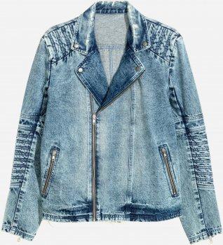 Джинсовая куртка H&M 4925125-ACXD Синяя