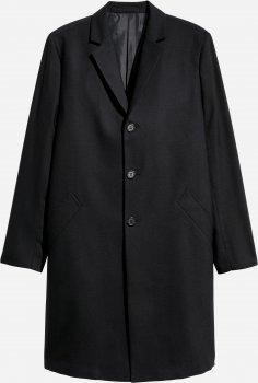 Пальто H&M 6242087-AAAD Чорне