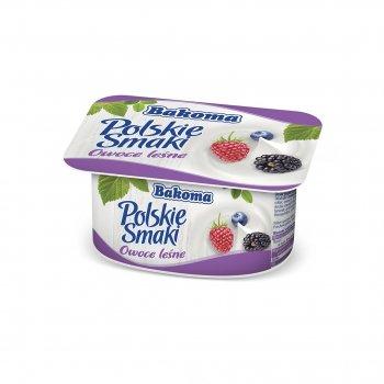 Йогурт Bakoma Польские Вкусы с лесными ягодами 120 г