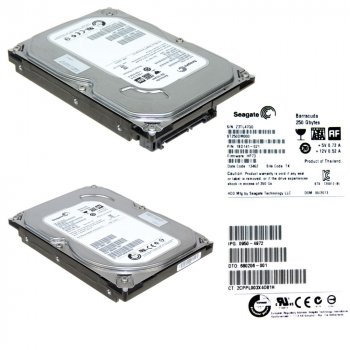 Жорсткий диск Seagate Barracuda 250GB 7200rpm 16MB SATAIII (ST250DM000) 3.5 Refurbished