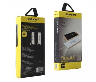 Беспроводное зарядное устройство Awei W1 (1A)