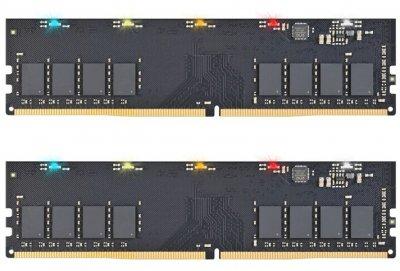 Оперативная память Exceleram DDR4-3200 32768MB PC4-25600 (Kit of 2x16384) RGB X1 Series (ERX1432326CD)