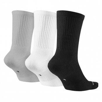 Баскетбольні шкарпетки (3 пари) Jordan Jumpman Dri-Fit 3PPK (SX5545-019) Чорний/Білий/Сірий