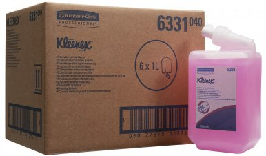 Жидкое мыло Kimberly Clark Professional в кассетах Kleenex Everyday Use 1 л (5033848004164)