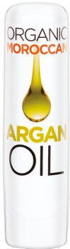 Гигиеническая помада для губ Quiz Organic Moroccan Argan Oil Lipcare с аргановым маслом Прозрачный 4.2 г (5906439030012)