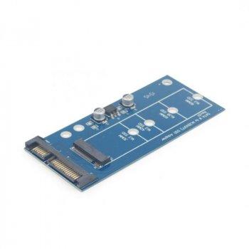 "Адаптер Cablexpert Mini-SATA для 1.8"" SSD M.2 (NGFF) (EE18-M2S3PCB-01)"