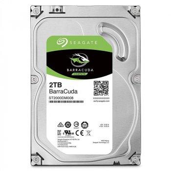 Накопичувач HDD SATA 2.0 TB Seagate BarraCuda 256MB (ST2000DM008)