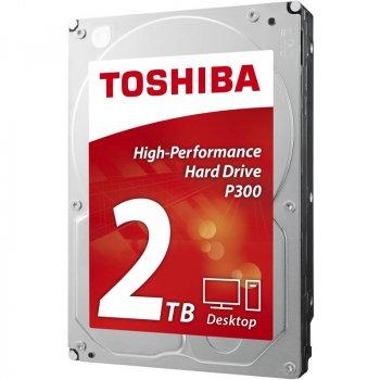 Накопичувач HDD SATA 2.0 TB Toshiba P300 7200rpm 64MB (HDWD120UZSVA)