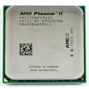 Процесор AMD Phenom II X3 720 Black Edition 2,8 GHz AM3 Б/У