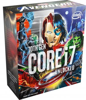 Процесор Intel Core i7-10700K 3.8 GHz/16MB (BX8070110700KA) s1200 Marvel's Avengers collector's Edition BOX