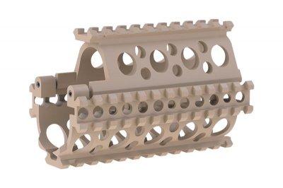 Цівка SHS M83K Aluminum RIS Rail Set for AK Tan