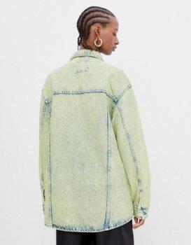 Джинсова куртка Bershka 6163/335/566