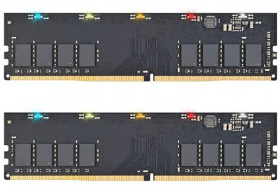 Оперативная память Exceleram DDR4-2666 16384MB PC4-21328 (Kit of 2x8192) RGB X1 Series (ERX1416269AD)