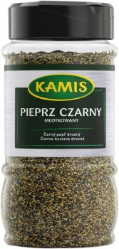 Перець чорний Kamis мелений 420 г (5900084257268)