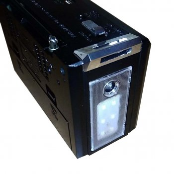Радіоприймач GOLON RX-381 з mp3 програвачем і ліхтариком (n207)