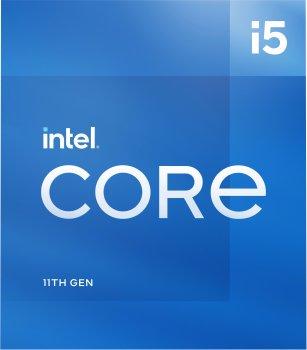 Процесор Intel Core i5-11400F 2.6 GHz / 12 MB (BX8070811400F) s1200 BOX