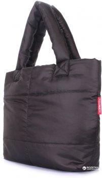 Женская дутая сумка POOLPARTY Fluffy Черная