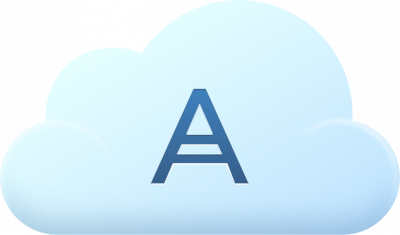 Acronis Cloud Storage Subscription License for 11.7, 5 TB, 1 Year