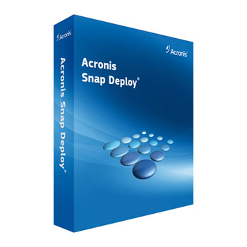 Acronis Snap Deploy for Server Machine License (v5) incl. AAS ESD