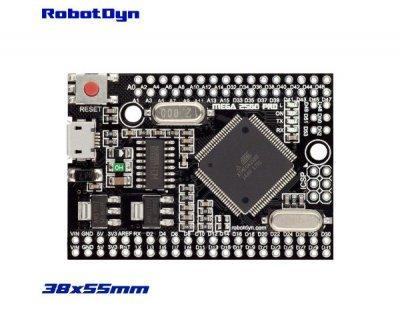 Плата контролер RobotDyn Mega 2560 PRO ATmega2560-16AU