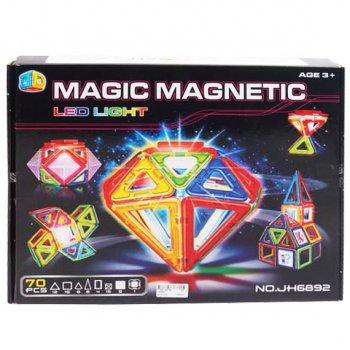 Магнитный конструктор MAGIC MAGNETIC 70 деталей JH6892