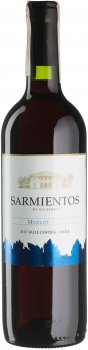 Вино Sarmientos Merlot красное сухое 0.75 л 13% (7804340802071)