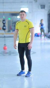 Спортивний чоловічий набір Glory yellow 2 1 FitU od0004713 Жовтий