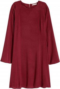 Платье H&M 4311014-ACUK Бордовое