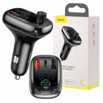 Автомобільна зарядка Baseus S13 T typed PPS Bluetooth MP3 (BS-0017)