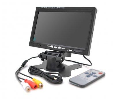 Монітор відеоспостереження Voltronic TFT 7 дюймів, AV+VGA+HDMI 12V
