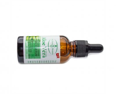 Увлажняющая сыворотка Aloe Vera с коллагеном и витамином Е Aichun Beauty (30 мл.)
