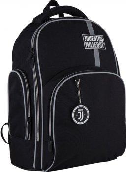 Рюкзак Kite Education FC Juventus 800 г 38x29x16.5 см 16 л Черный (JV21-706M)