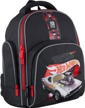 Рюкзак Kite Education Hot Wheels для хлопчиків 770 г 36x29x16.5 см 15.5 л Темно-сірий (HW21-706S)