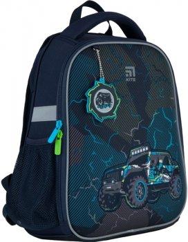 Рюкзак Kite Education каркасний для хлопчиків 800 г 35x26x13.5 см 12 л Темно-синій (K21-555S-1)
