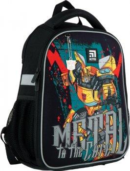 Рюкзак Kite Education Transformers каркасный 830 г 35x26x13.5 см 12 л Черный (TF21-555S)