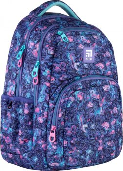 Рюкзак Kite Education teens 940 г 44x31.5x14 см 26 л Фиолетовый (K21-903L-5)