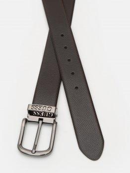 Мужской ремень кожаный Guess BM7312-LEA35 XL Brown (7618483265798)
