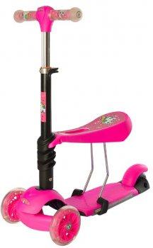Самокат 3в1 iTrike Maxi Pink (JR 3-076-A pink)