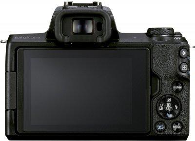Фотоапарат Canon EOS M50 Mark II Body Black (4728C042) Офіційна гарантія!