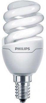 Енергозберігаюча лампа Philips Tornado T2 mini 8W WW E14 220-240V 1PF/6