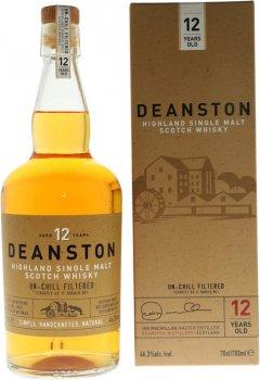Виски односолодовый Deanston Un-Chill Filtered 12 лет выдержки в подарочной упаковке 0.7 л 46.3% (5029704217175)